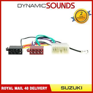 ct20sz01 car stereo radio iso wiring harness adaptor loom for suzuki rh ebay co uk
