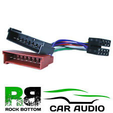 halfords harness iso adaptor pc2 08 4 675520 car audio connector rh ebay co uk Sony Radio Wiring Harness Painless Wiring Harness