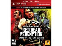 Red Dead Redemption: Game Of The Year Edition Playstation 3 on sale