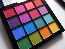 NYX Professional Makeup Brights Eyeshadow Palette New Genuine Matte Yellow Pink