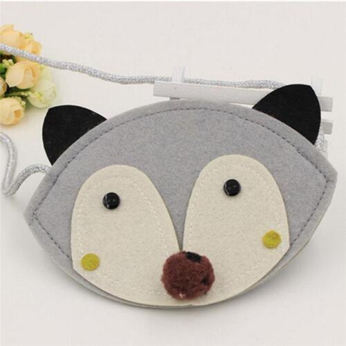 Baby Kids Girls Fox Shoulder Bag Crossbody Purse Wallet Handbag Messenger DB