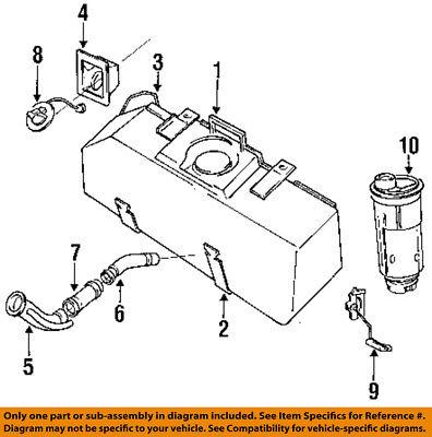 Gas Fuel Tank Filler Neck Hose Pipe NEW for 87-96 Dodge Dakota Pickup Truck