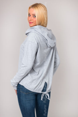 Womens  Stunning Hoodie with Zipper Activewear Coat Pockets Size 10-14 FT1233