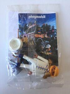 10 X Playmobil Promofigur Captain De 4511 Sous emballage métallique - Nouveau!