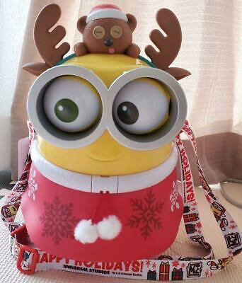 Santa Minion Popcorn Bucket Japan F//S USJ