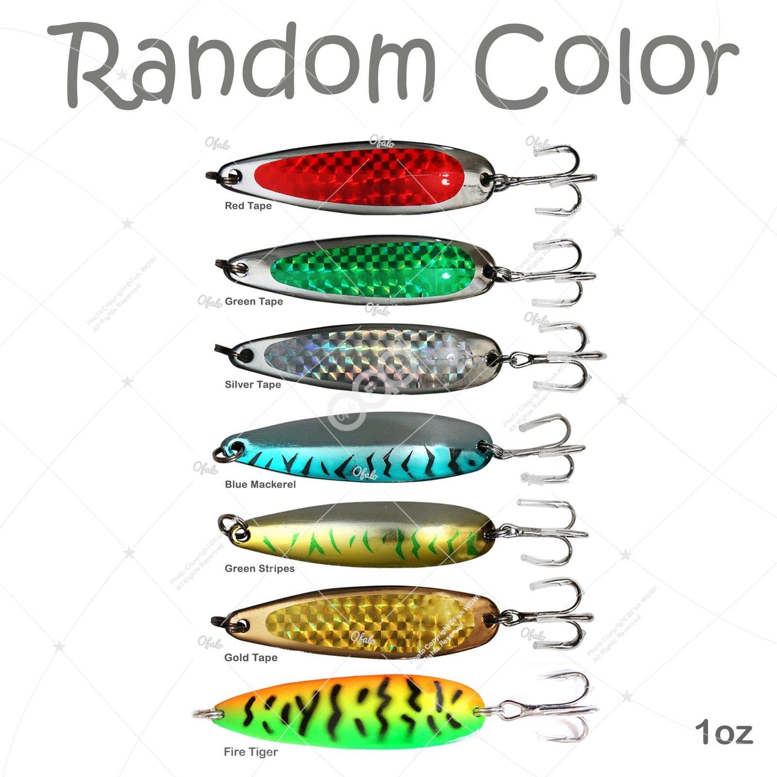 50 un. 1oz Pesca Peces De Metal Cocodrilo Estilo Cucharas Krocodile Jig Colors aleatorios