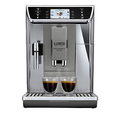 NEW Delonghi Primadonna Elite automatic coffee machine silver ECAM65055MS