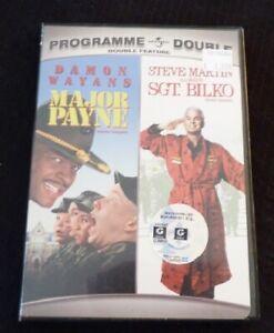DVD-Movie-Double-Feature-Major-Payne-Sgt-Bilko-Programme-Double
