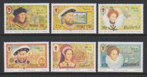 Isle-of-Man-2003-End-of-the-Tudor-Reign-set-MNH-SG-1085-90