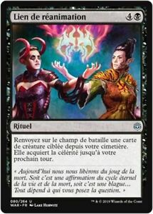 x4 French//VF MTG Magic WAR - Bond of Insight//Lien de perspicacité
