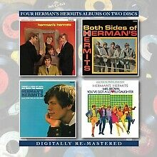Herman's Hermits Self Titled/Both Sides/There's a /Mrs. Brown Remaster 2 CD NEW