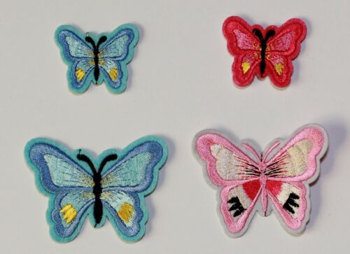 Butterfly  Iron//Sew on embroidered  Patch motifs #11