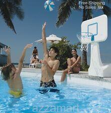Pool Basketball Hoop Goal Net Games Sports Backboard Poolside Swimming Water New