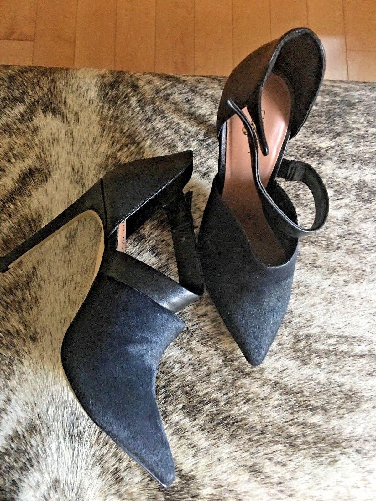 con il 100% di qualità e il 100% di servizio New Firth Strap Pump Real Fur Fur Fur Dimensione 5.5  Sconto del 70%