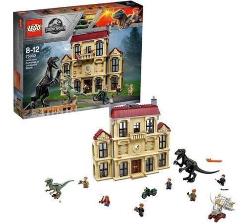 Lego Jurassic World Maisie and Indoraptor Play Set  75930  (New & Sealed)