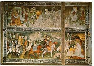 """Ansichtskarte Kirche Maria Saal, Kärnten, Fresken """"Zug der Hl. 3 Könige"""" - Wien, Österreich - Ansichtskarte Kirche Maria Saal, Kärnten, Fresken """"Zug der Hl. 3 Könige"""" - Wien, Österreich"""
