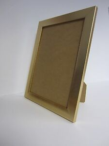 Gold 10x12 Photo Picture Frame Free Standing Ebay