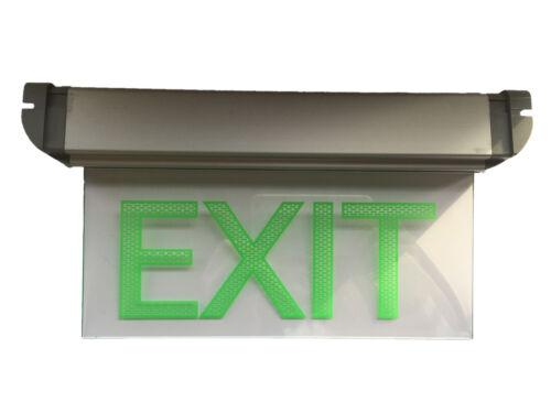 Notausgang Schild Exit LED Notleuchte Fluchtweg Licht Beleuchtung EXIT