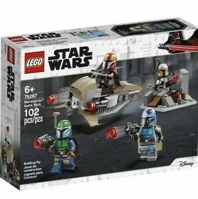 NIB LEGO Star Wars Mandalorian Battle Pack 75267 102 Piece Building Toy Set Kit