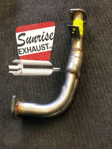 1997-1998 ACURA 1.6 EL FRONT EXHAUST PIPE FRONT PIPE