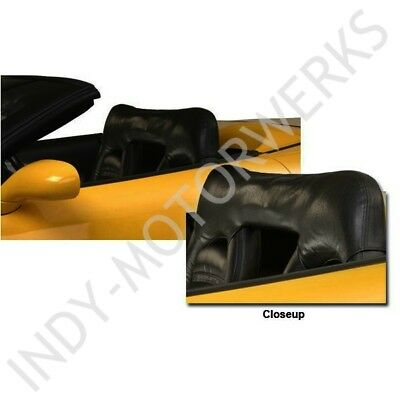C5 CORVETTE CONVERTIBLE SPORT SEAT WIND DEFLECTOR PREVENT WIND BUFFERING 98-04