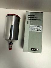SATA 96685- 1.0  Litre QCC Replacement Aluminum Spray Gun Cup-Quick Lock Version