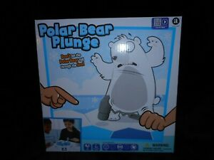 POLAR BEAR PLUNGE DONT BREAK THE ICE BOARD GAME  AGES 4 & UP 2 PLAYERS NEW