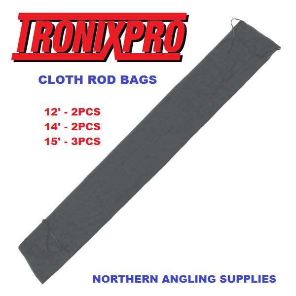 Tronix Pro Replacement Rod Bag For Fishing Rods