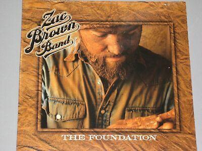 Zac Brown Band The Foundation Lp Gatefold New Sealed Vinyl
