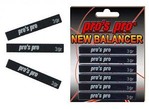 Pro-039-s-Pro-New-Balancer-Lead-Tape-Power-Strips-Black-Tennis-Racket-Golf-Clubs