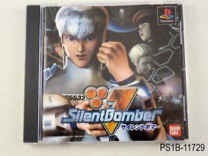 Silent-Bomber-Playstation-1-Japanese-Import-PS1-JP-Japan-PS-US-Seller-B