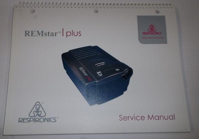 Respironics REMstar Plus Nasal Flow Generator CPAP System Service Manual  1011173