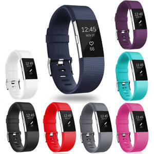 For-Fitbit-Charge-2-Silicone-Replacement-Wristband-Strap-Bracelet-Watch-Bands