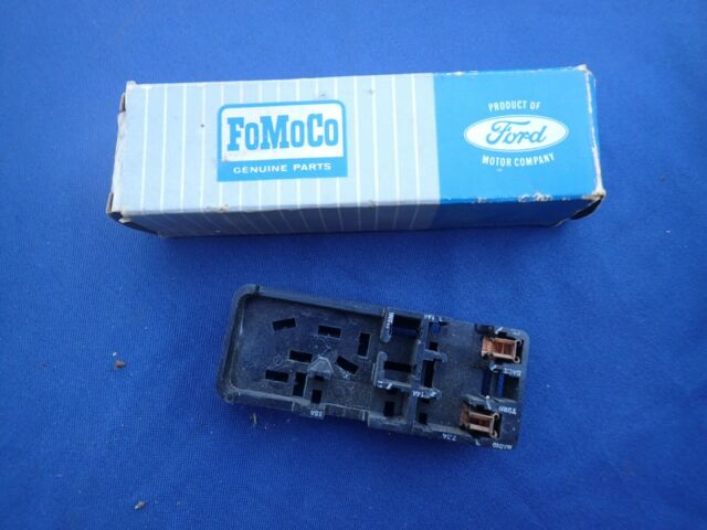 NOS FOMOCO 1964 Ford Truck F100 Fuse Block Assembly for sale online | eBay | Ford F100 Fuse Box |  | eBay