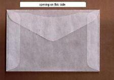 "500 #4 Glassine Stamp Envelopes 3¼"" x 4 7/8"" Westvaco Cenveo JBM storage bags"