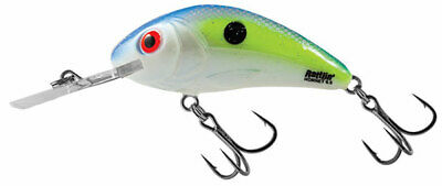 """Salmo Hornet Rattle 5.5 Floating Lure H55-CS Chartreuse Shad 2 1//8/"""" 3//8 oz"""