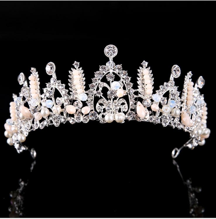5.5cm high crystal rhinestone luxury wedding bridal party beauty pageant crown