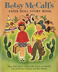 VINTAGE-BETSY-McCALL-S-PAPER-DOLL-RARE-UNCUT-LASER-REPRODUCTION