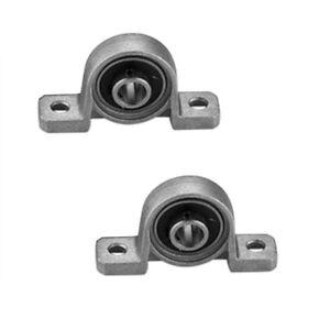 2-Stueck-Stehlagergehaeuse-Lagerbock-Stehlager-8-mm-Welle-Ball-montiert