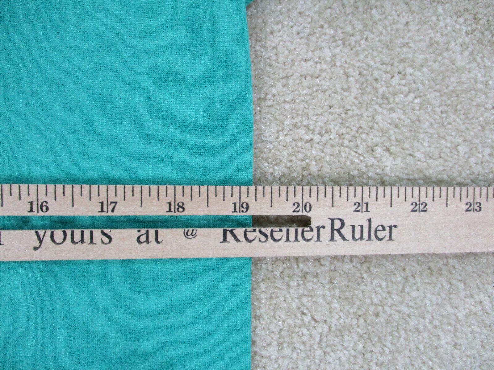 VINTAGE Converse Shirt Adult Medium Green Red Chu… - image 6
