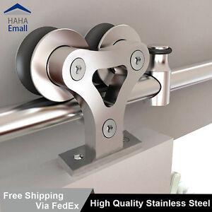 Stainless Steel Sliding Barn Door Hardware Track Rollers