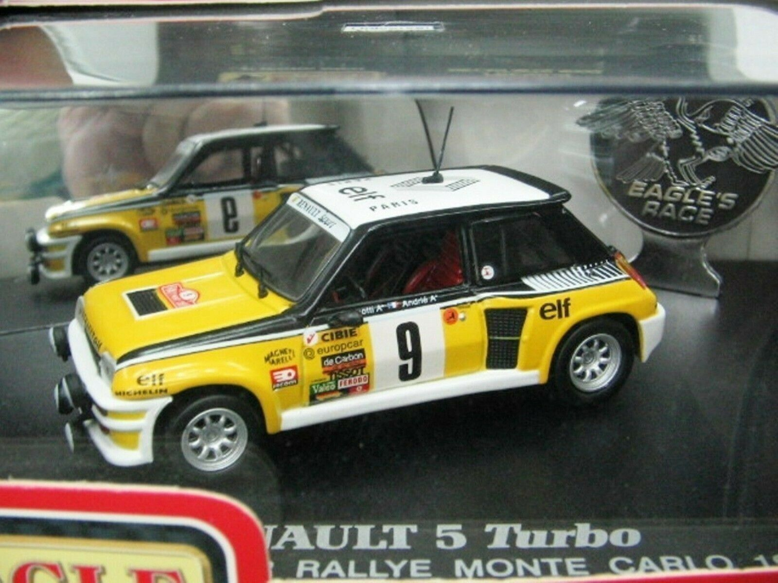 WOW EXTREMELY RARE Renault 5 Turbo WRC Ragnotti M.Carlo 1981 1 43 UH-Spark