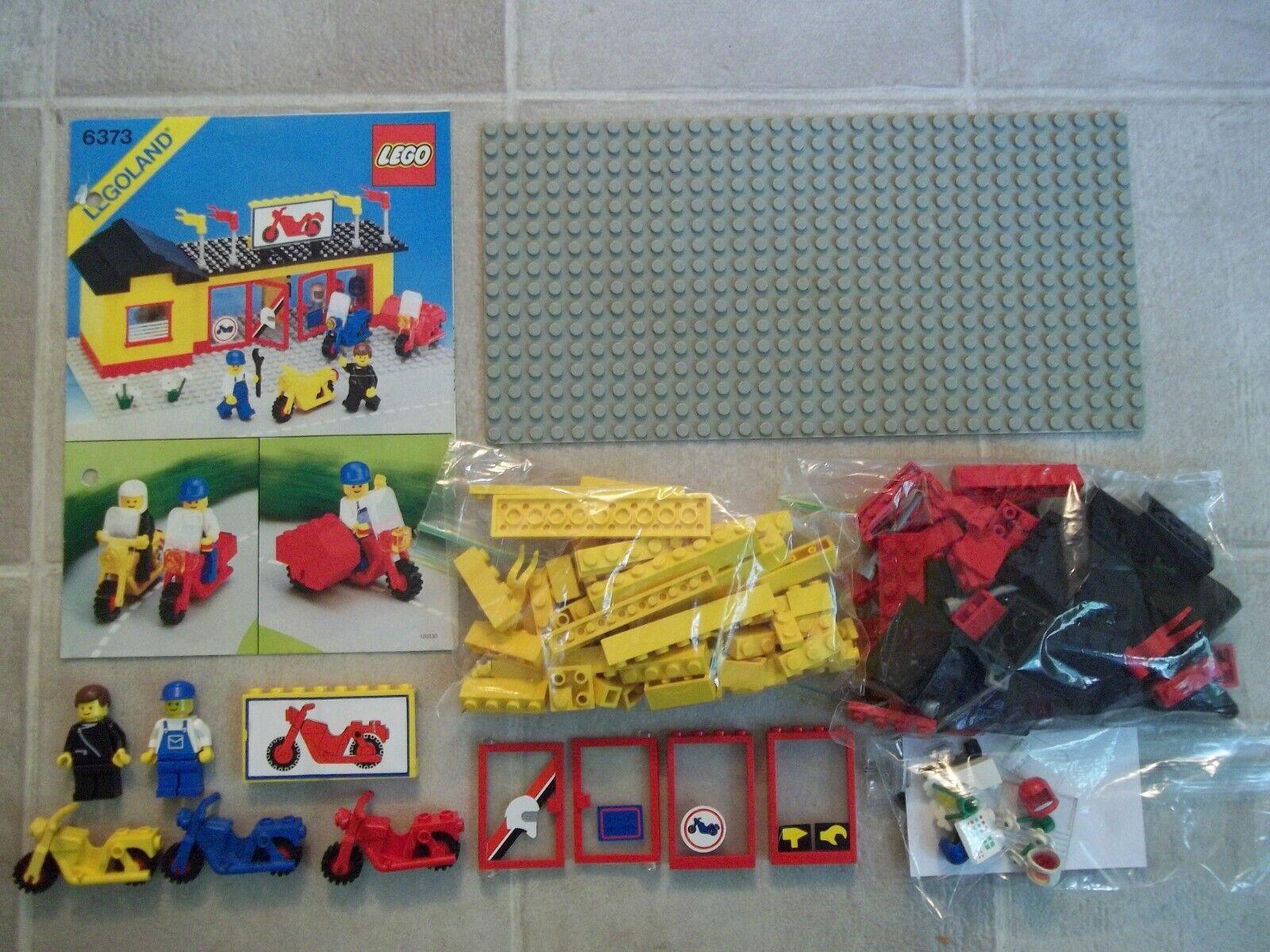 Lego 6373 Classic Town Moto Shop Garage complet avec instructions  un  votre satisfaction est notre cible