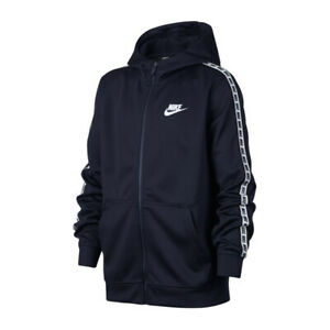 online store detailed images sells Details about Nike JR NSW repeat FZ Hoodie Jacket 451 Size 164 cm- show  original title