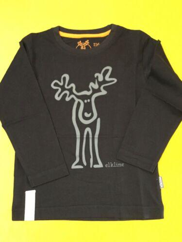 Elkline Longsleeve Langarm Pulli rudööölfchen  3140025 Black Grey