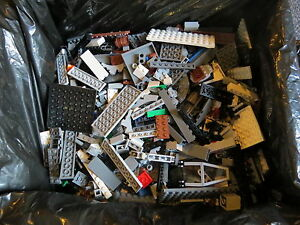 Lego Lot of Building Bricks Mostly Star Wars 8 lbs As Is Great Gift! S2 1.83