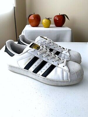 Adidas Superstar Men's Athletic Shoes Sneakers White C77124 Size 8 US 888168405970 | eBay