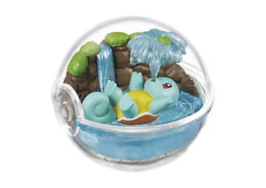 Re-ment-Pokemon-Terrarium-Pokeball-Collection-2-Figure-Squirtle-Ship-in-Box