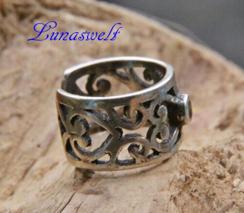 Ohrklemme pendiente 925 plata Onyx ornament 925 plata joyas de pelo