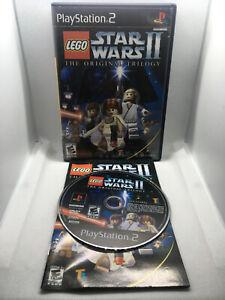 Lego Star Wars II 2 The Original Trilogy - Complete CIB -Playstation 2 PS2